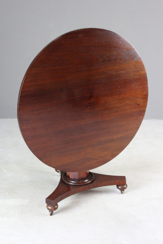 Victorian Round Tilt Top Table - Kernow Furniture