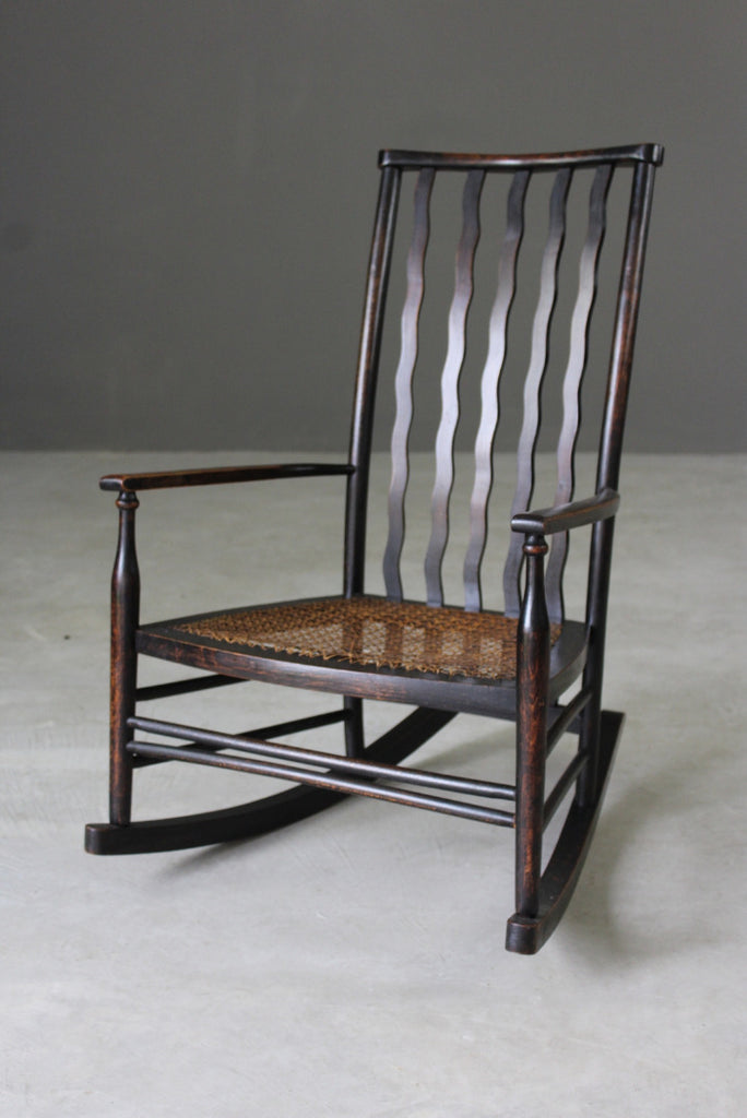Early 20th Century Rocking Chair