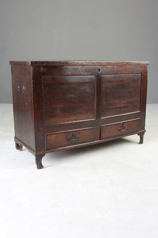 19th Century Oak Mule Chest - vintage retro and antique furniture