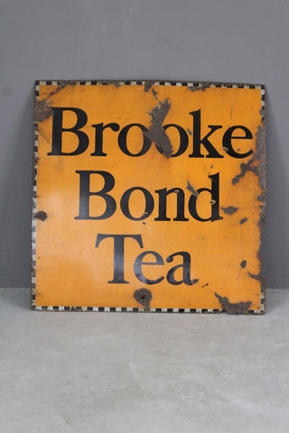 Brooke Bond Tea Enamel Sign - Kernow Furniture