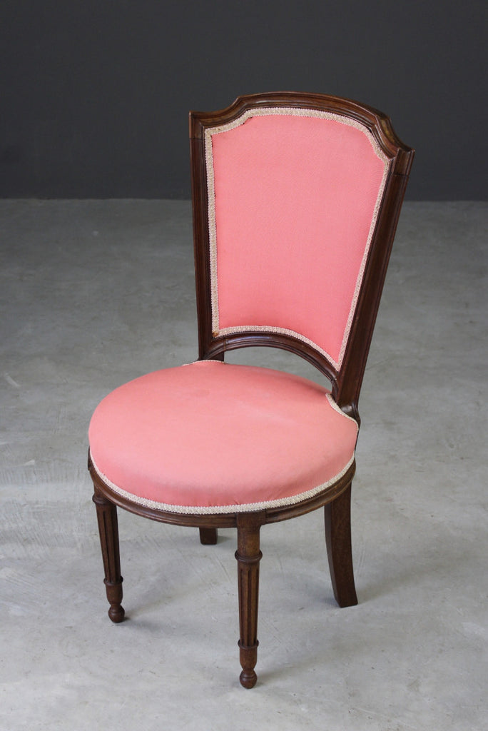 Vintage French Style Pink Salon Chair