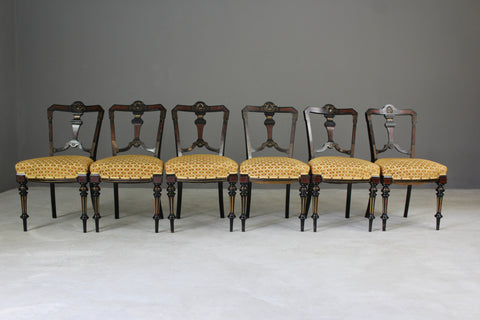 Aesthetic Movement Dining Chairs - vintage retro and antique furniture