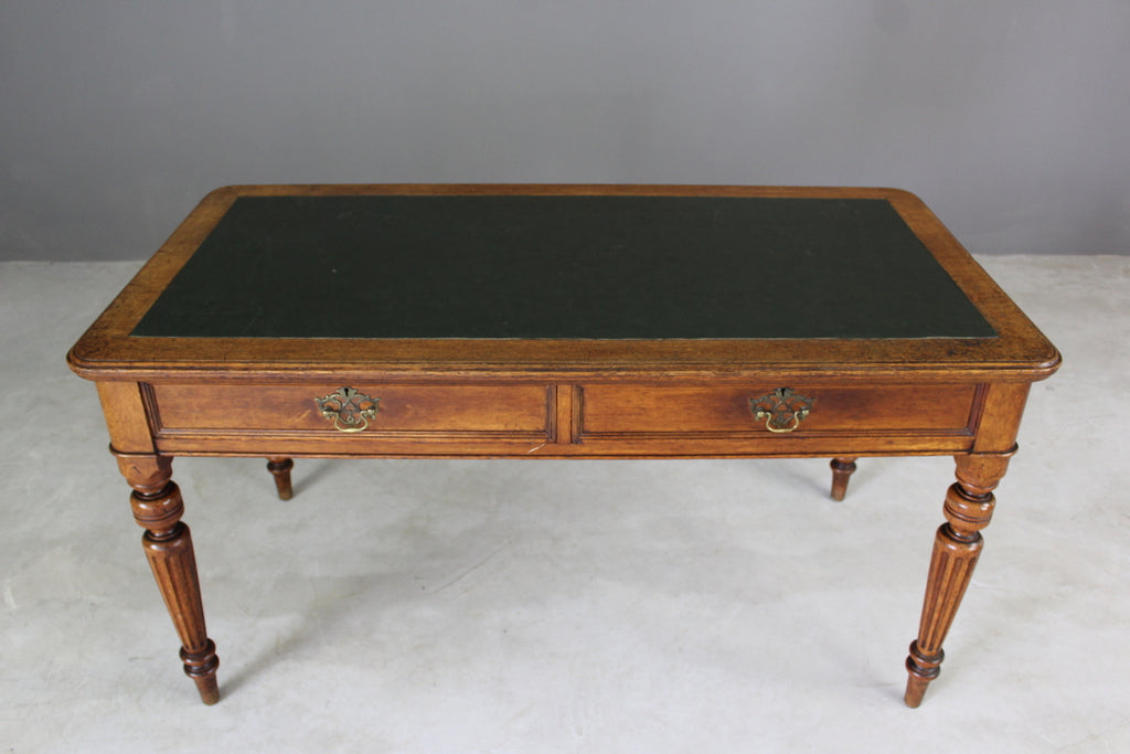 ... Antique Oak Library Table   Vintage Retro And Antique Furniture ...