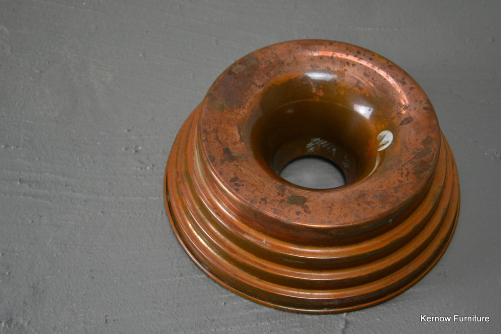 Vintage Copper Ring Jelly Mould - Kernow Furniture 100s vintage, retro & antique items in stock