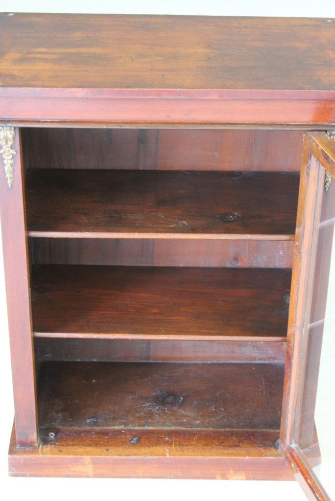 Antique Mahogany Display Cabinet - Kernow Furniture