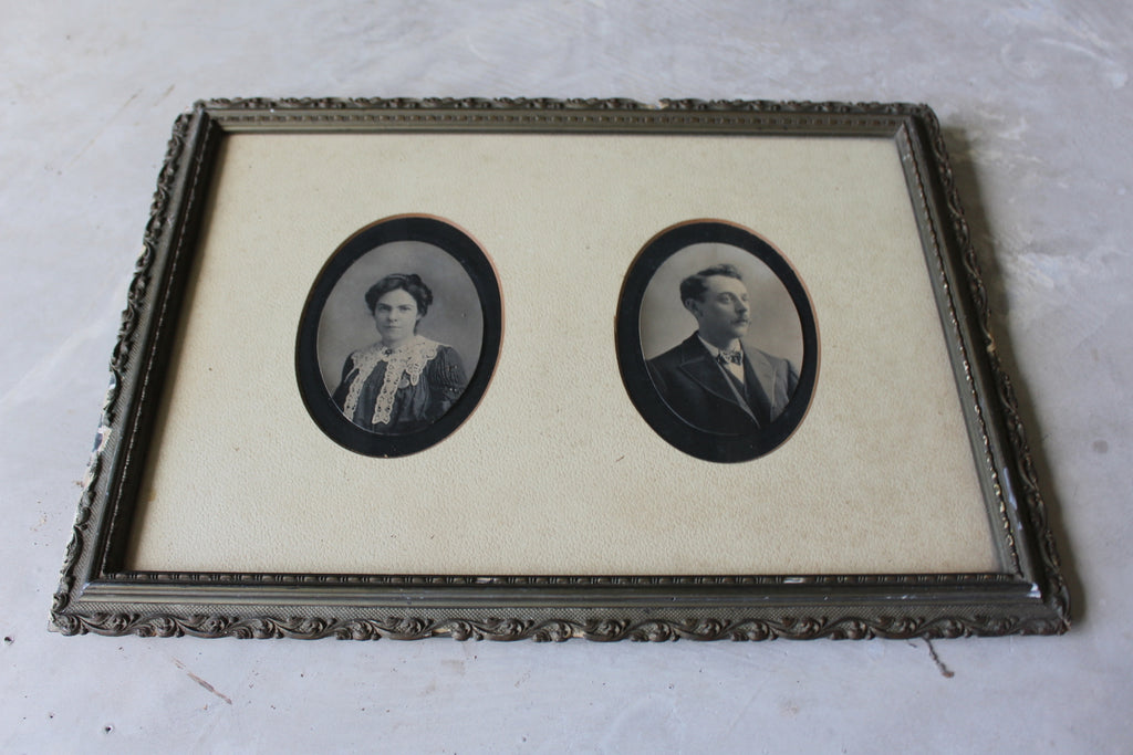 Antique Portrait Frame - Kernow Furniture