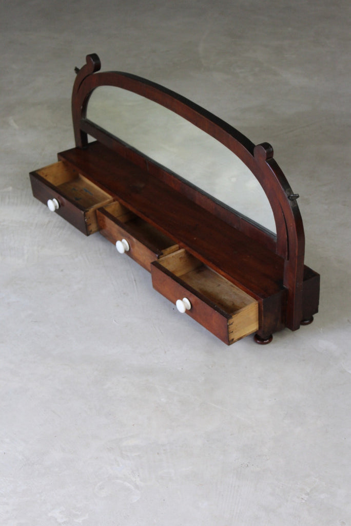 Mahogany Dressing Mirror - Kernow Furniture