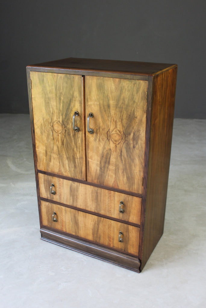 Walnut Tall Boy - Kernow Furniture