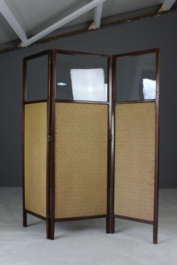 Antique Edwardian Dressing Screen - vintage retro and antique furniture