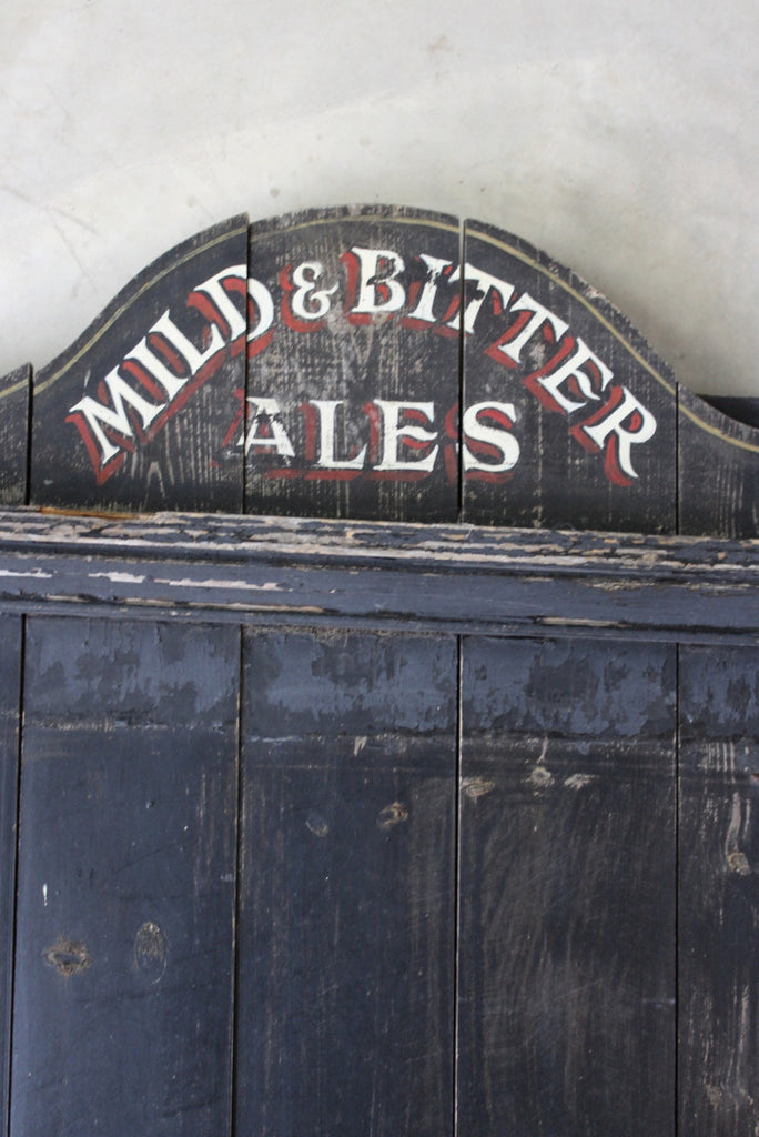 Vintage Pub Blackboard - Kernow Furniture