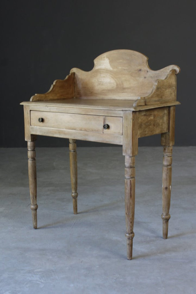 Antique Pine Washstand - vintage retro and antique furniture