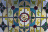 Pair Stained Glass Windows - Kernow Furniture
