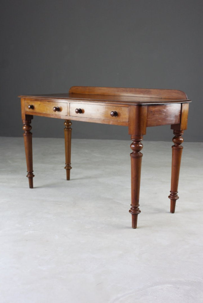 Antique Mahogany Writing Table - vintage retro and antique furniture