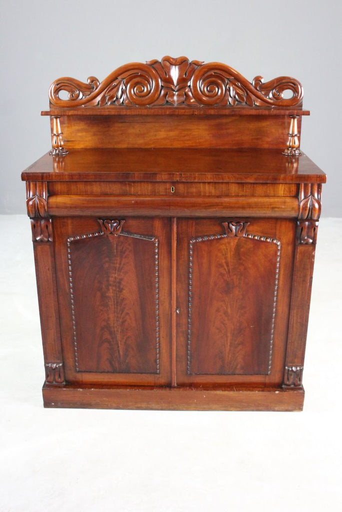 Antique Mahogany Chiffonier - Kernow Furniture