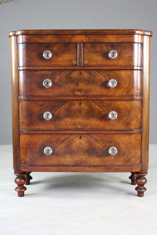 Large Victorian Mahogany Chest of Drawers