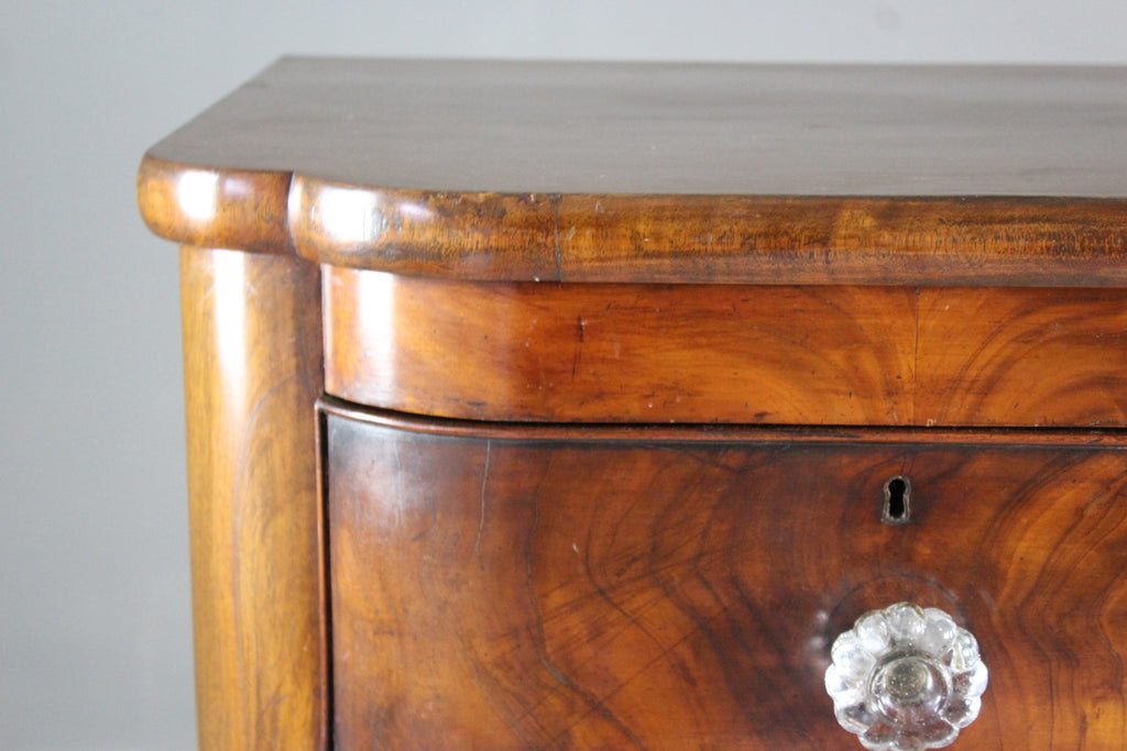 Large Victorian Mahogany Chest of Drawers - Kernow Furniture
