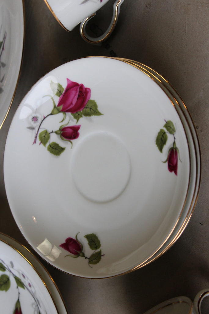 Winter Rose Tea Service - Kernow Furniture