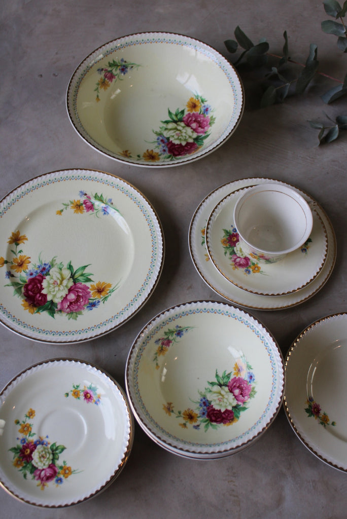 Ridgway Portland Pottery Cobridge Part Tea Service - Kernow Furniture