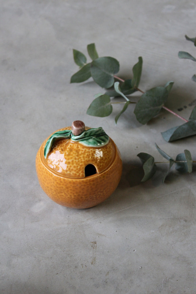 Secla Orange Preserve Pot - Kernow Furniture