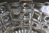 Chunky Clear Glass Serving Bowl