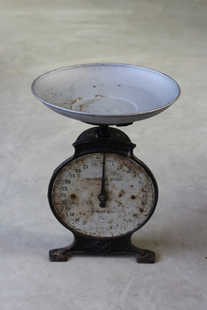 Antique Household Scale - vintage retro and antique furniture