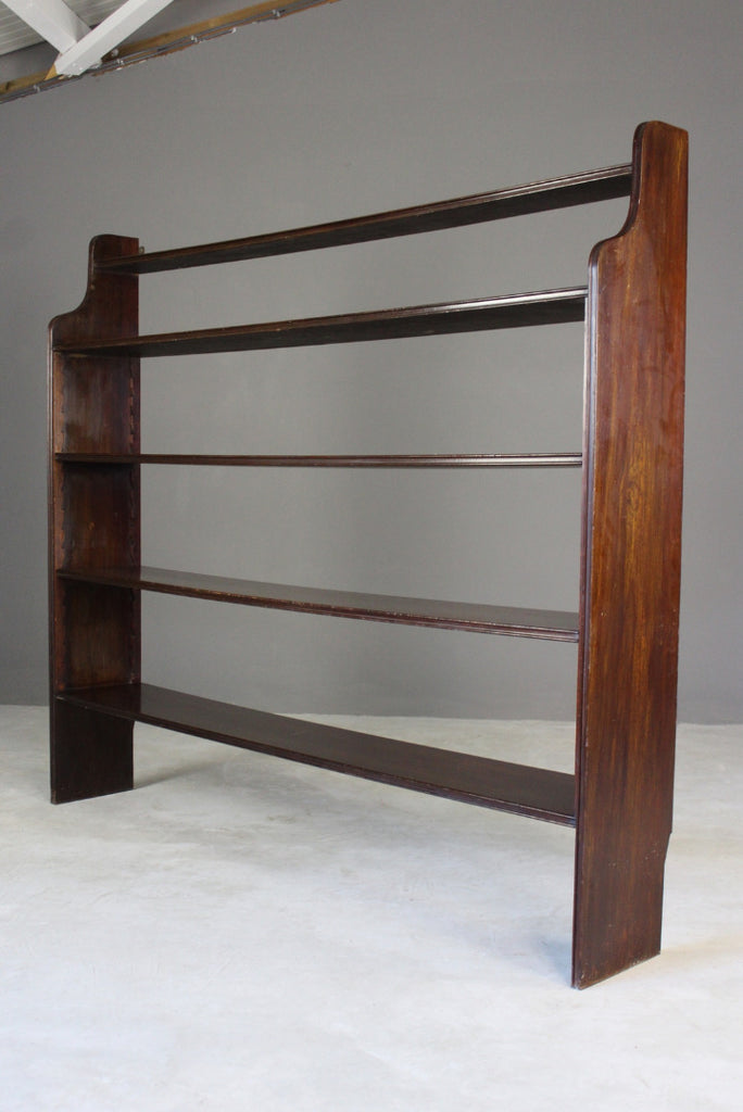 Large Open Bookcase - Kernow Furniture