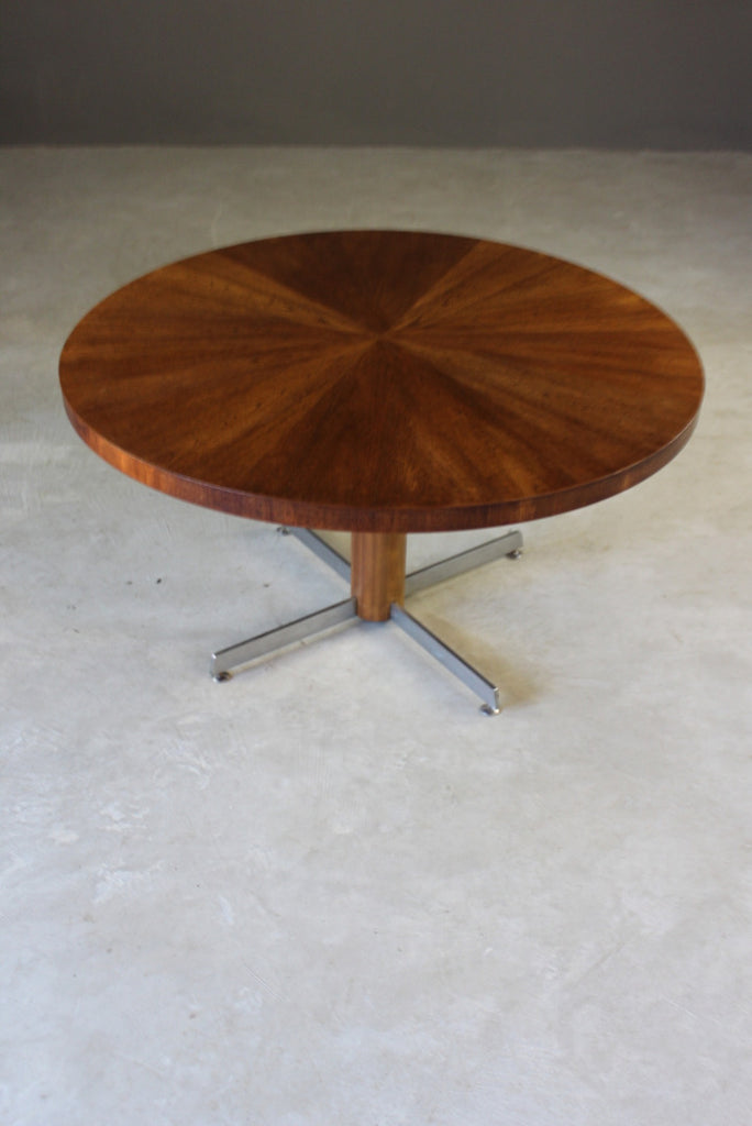 Retro Teak Round Coffee Table