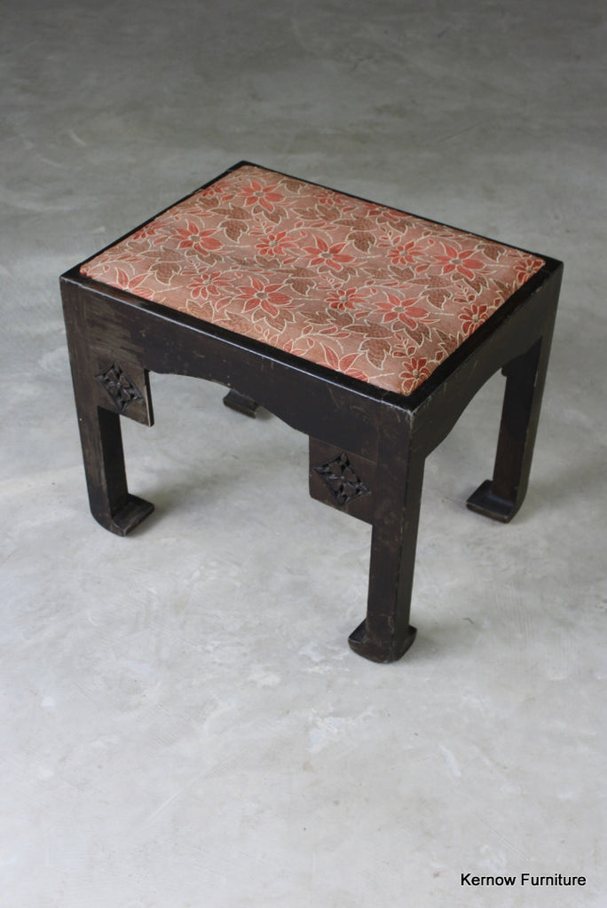 Eastern Style Small Stool - Kernow Furniture