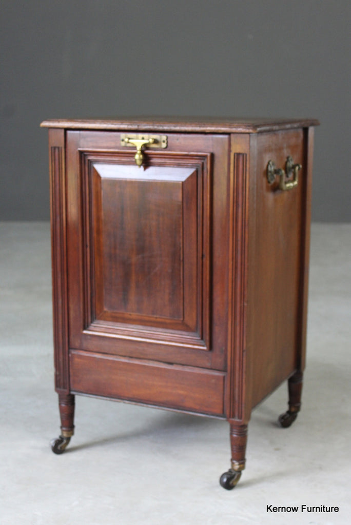 Edwardian Purdonum Coal Scuttle