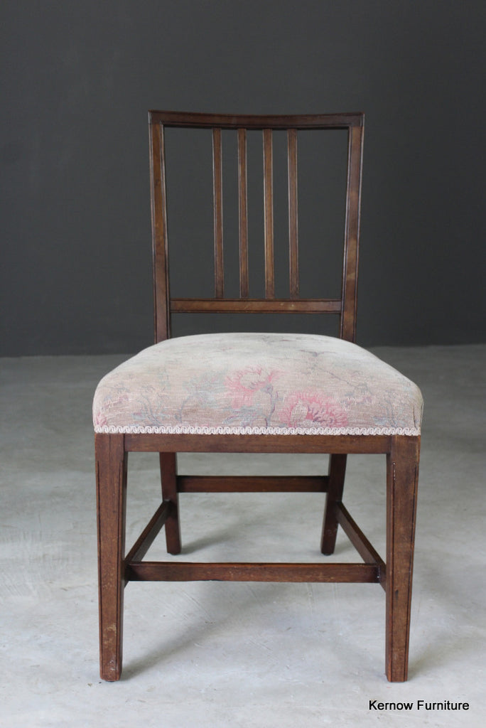 Single Mahogany Dining Chair - Kernow Furniture