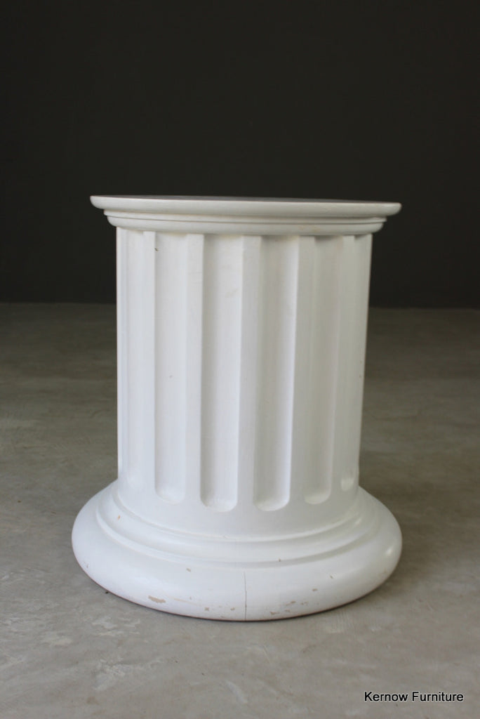 Large Round Painted Column