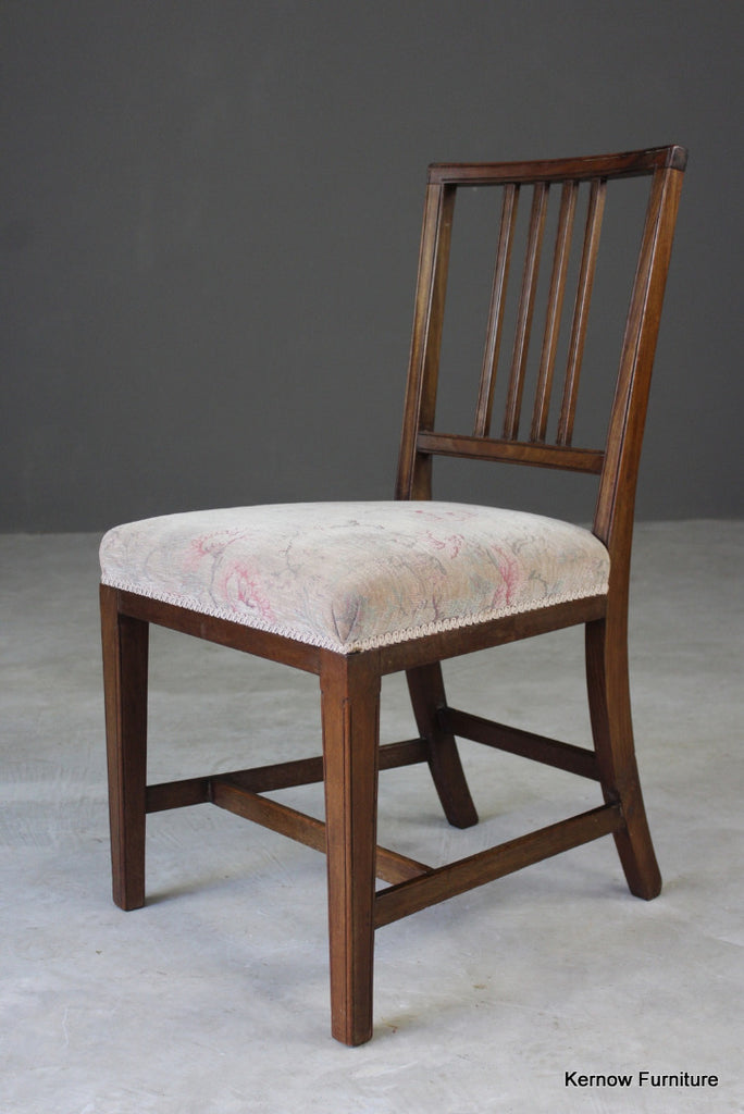 Single Mahogany Dining Chair