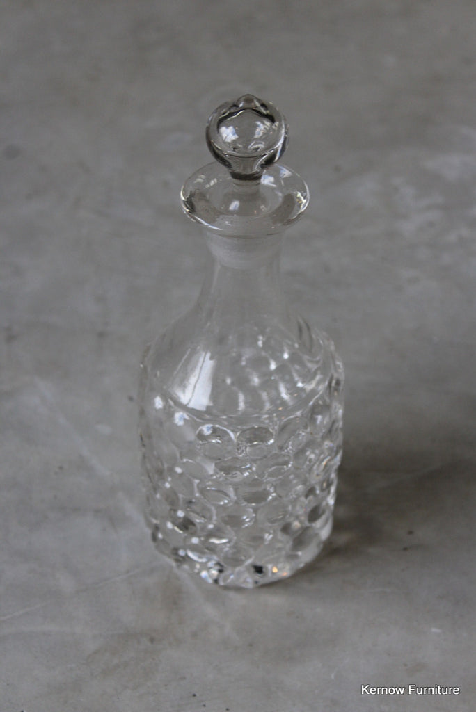 Retro Glass Decanter - Kernow Furniture