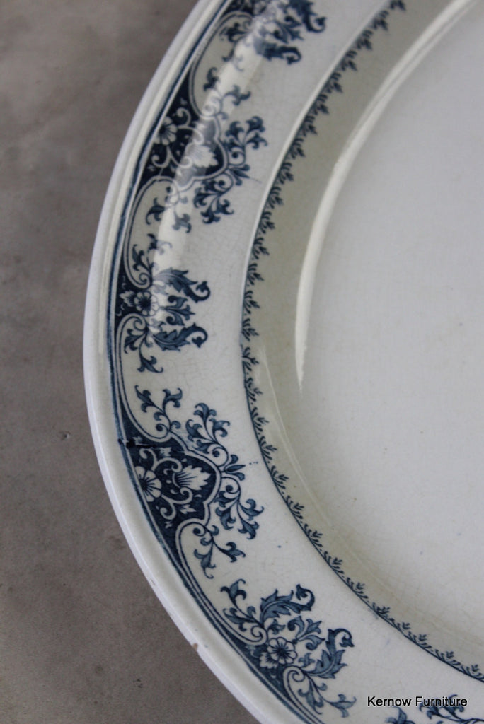 Minton Oval Meat Plate - Kernow Furniture