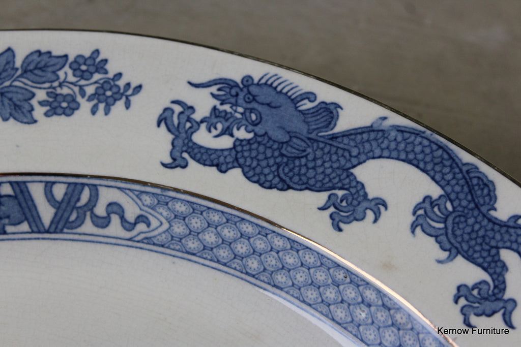 Booths Large Dragon Meat Plate - Kernow Furniture