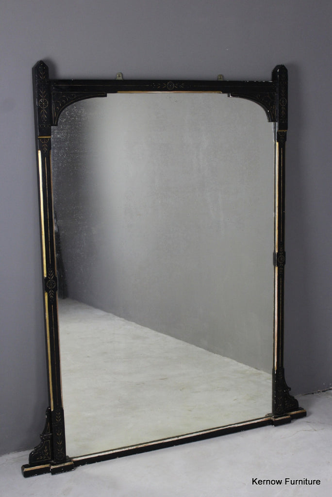 Victorian Aesthetic Large Mirror - Kernow Furniture