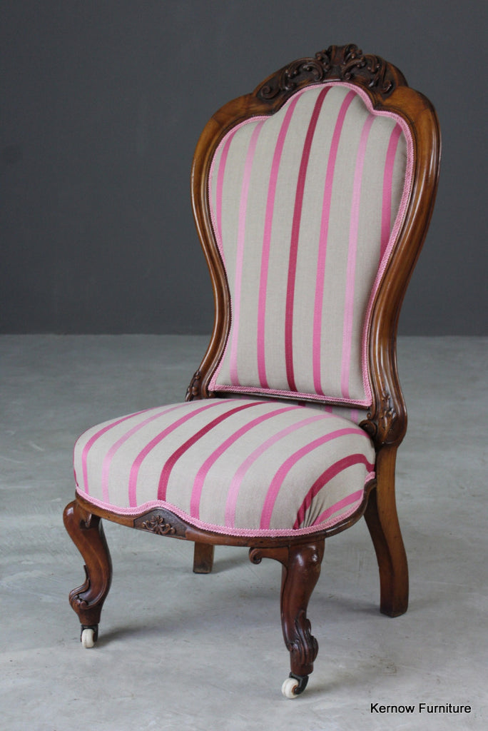 Victorian Upholstered Salon Chair