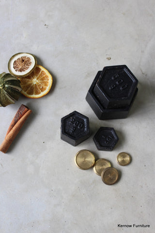 Assorted Cast Iron Weights