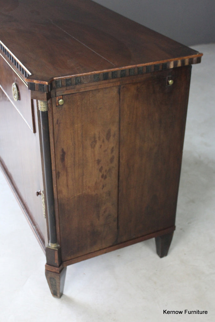 French Mahogany Commode - Kernow Furniture