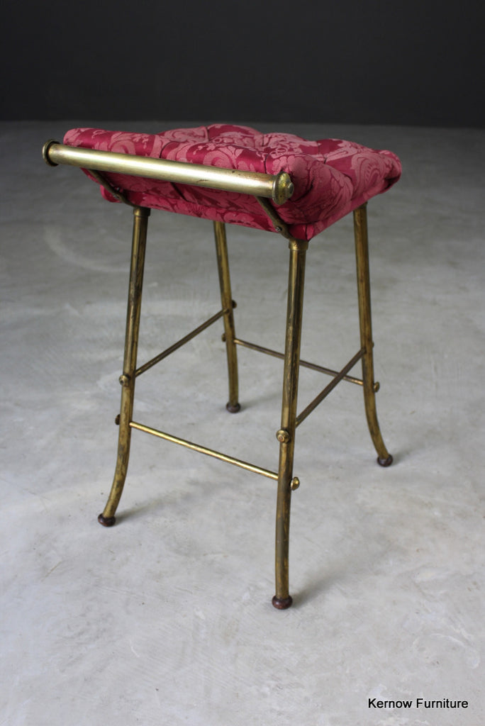 Early 20th Century Music Stool - Kernow Furniture