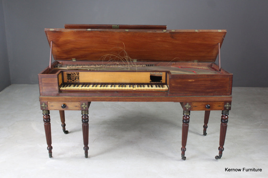 John Broadwood Square Piano 1809 - Kernow Furniture