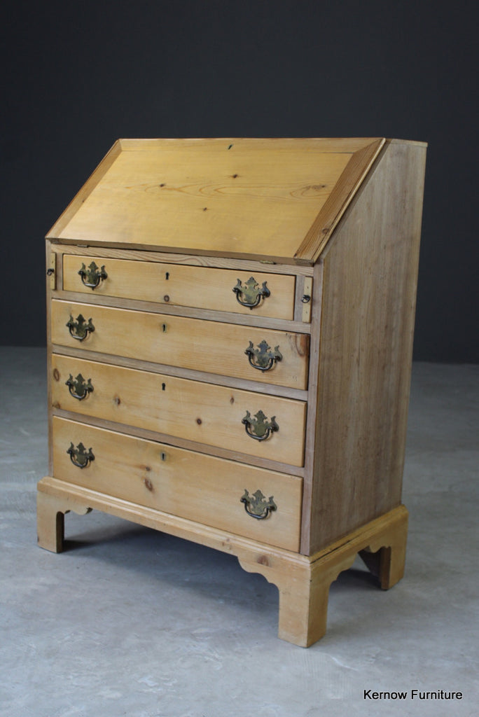 Stripped Pine Writing Bureau