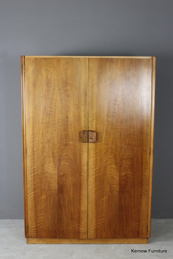 Gordon Russell Walnut Wardrobe - Kernow Furniture