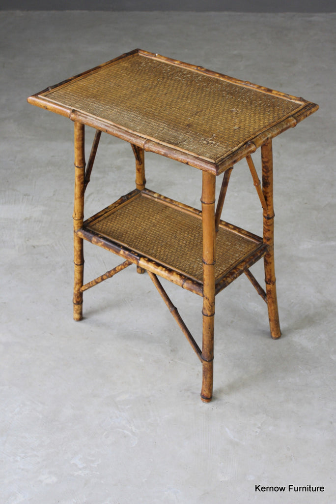 Bamboo Occasional Table - vintage retro and antique furniture