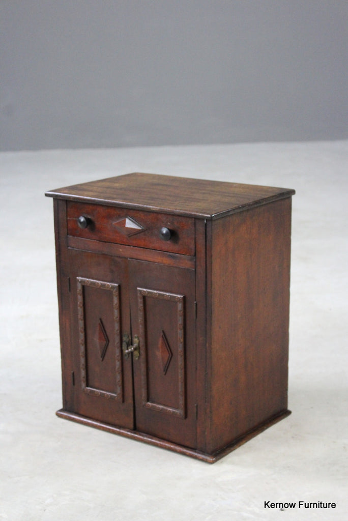 Small Arts & Crafts Mahogany Cabinet
