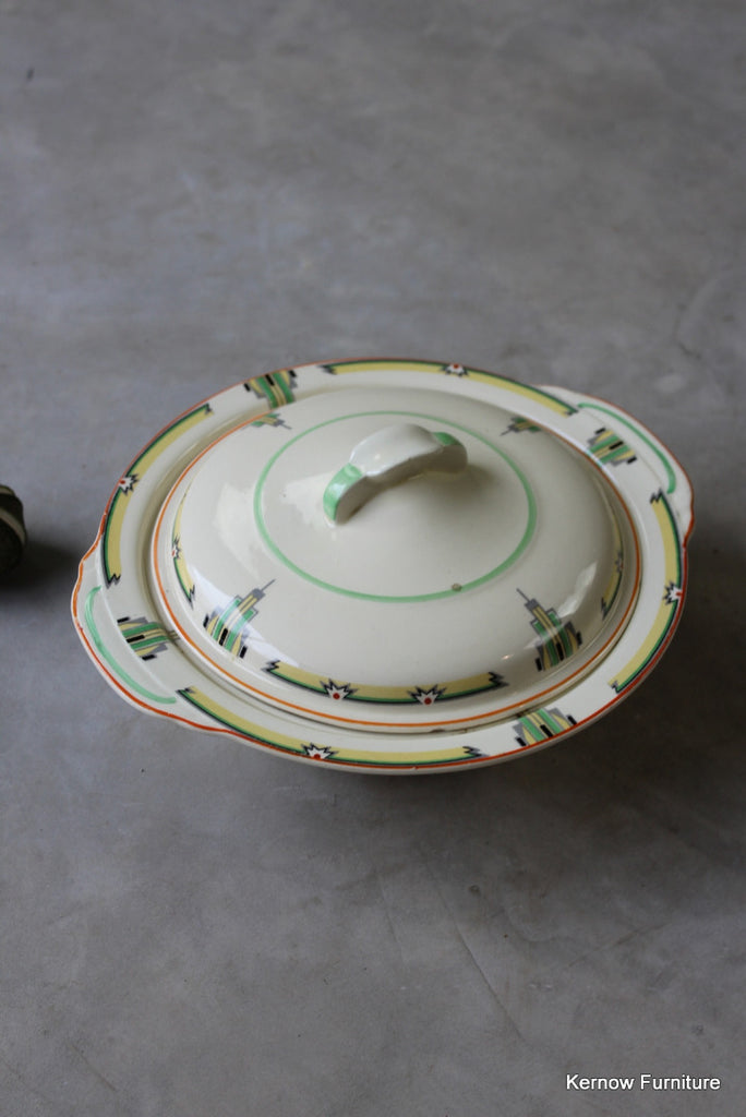 Woods Ivoryware Art Deco Tureen