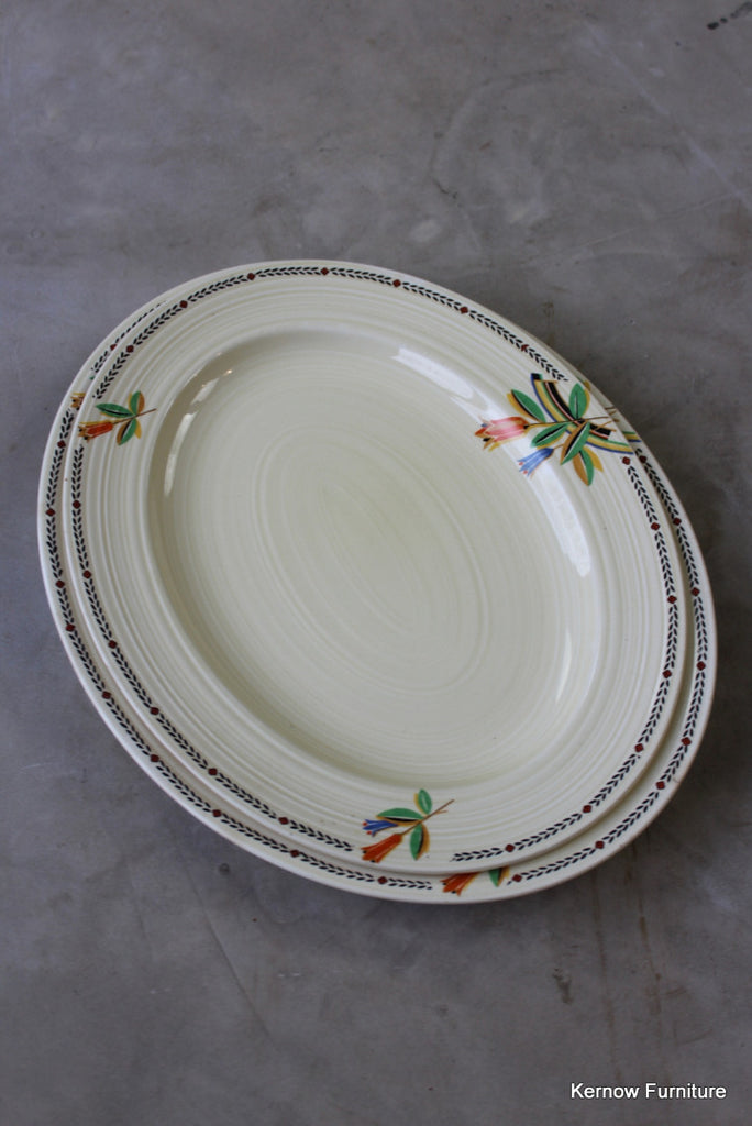 Crown Ducal Oval Plates : 3850IMG19011024x1024 from kernowfurniture.co.uk size 684 x 1024 jpeg 81kB
