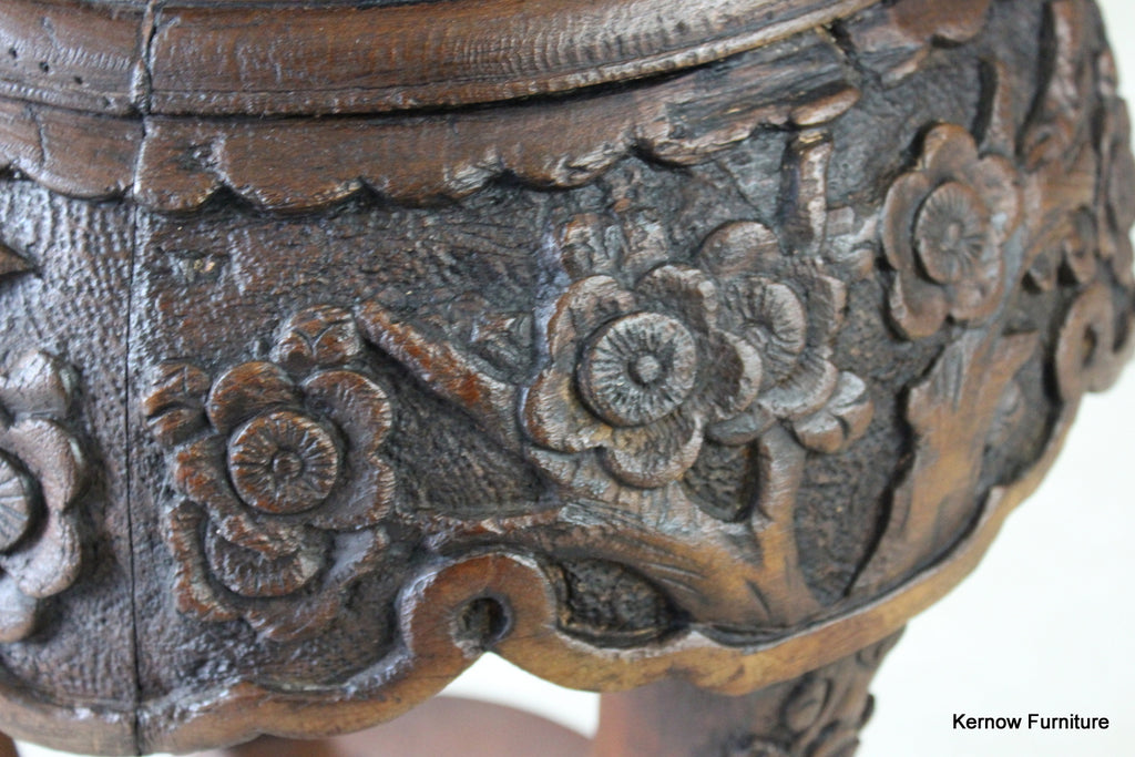 Chinese Plant Stand - Kernow Furniture