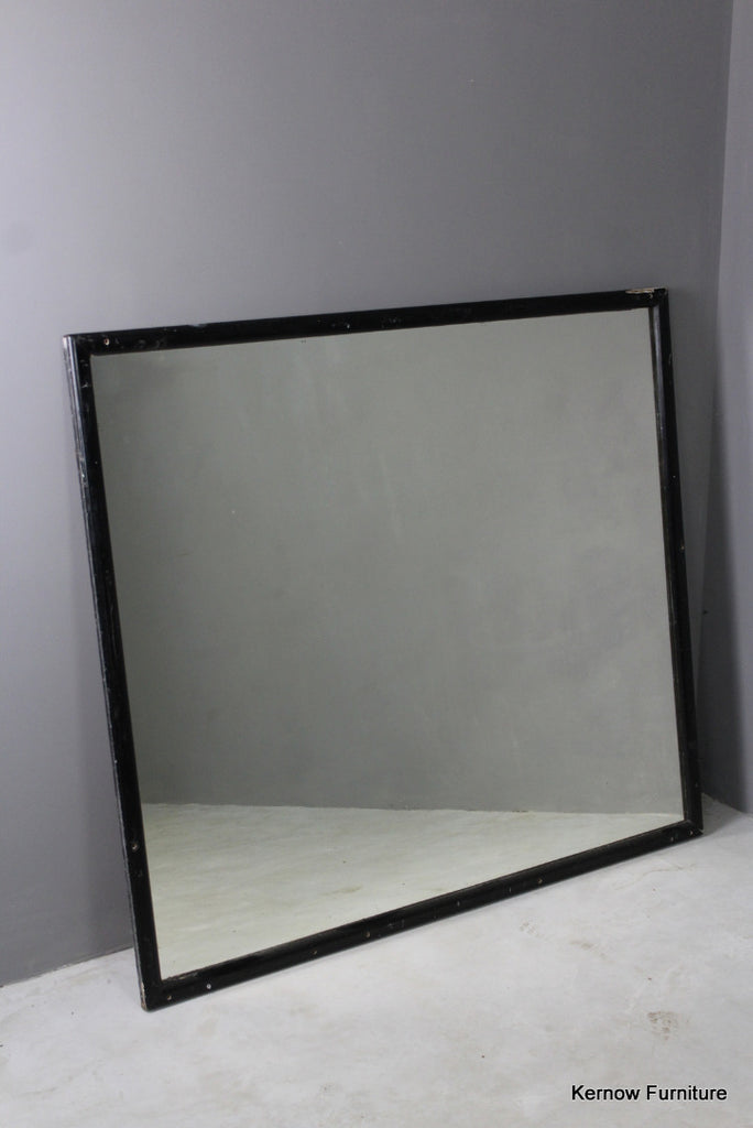 Large Antique Wall Mirror - Kernow Furniture