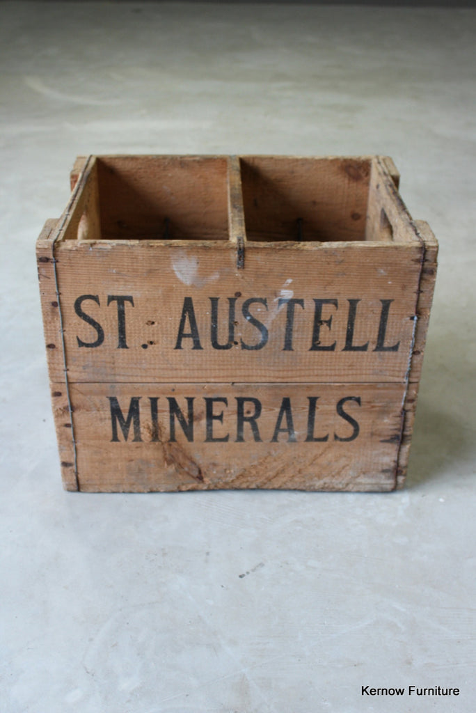 St Austell Brewery Wooden Crate